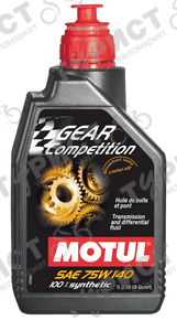 Масло Motul Gear Competition 75w140 Синт 1Л