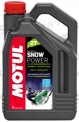 Масло Motul Snow Power П/с 2Т 4Л