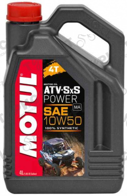 Масло Motul Atv Sxs Power 4Т 10W50 4Л Синт