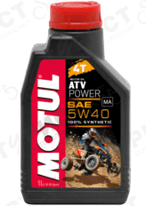 Масло Motul Atv Power 4Т 5W40 1Л Синт