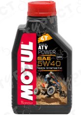 МАСЛО MOTUL ATV POWER 4т 5w40 1л СИНТЕТИКА