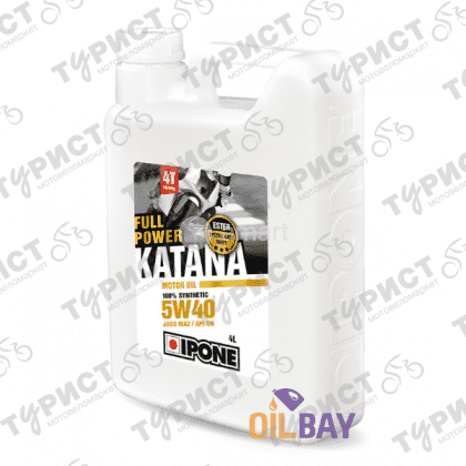 МАСЛО IPONE FULL POWER KATANA 4T 5W40 4Л СИНТЕТИКА
