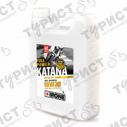 МАСЛО IPONE FUII POWER KATANA 4T10W30 4Л СИНТЕТИКА