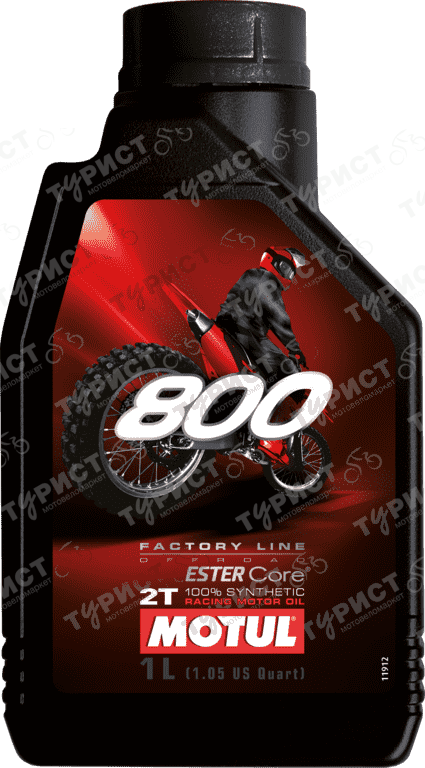 Масло Motul 800 Off Road 2Т